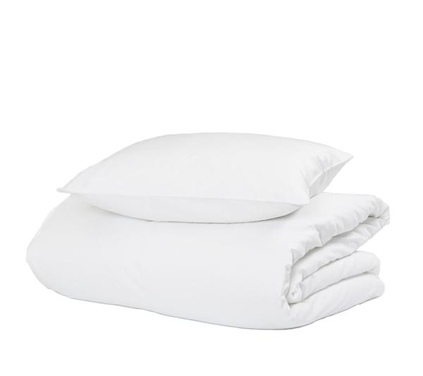 hästens satin pure sengetøj white