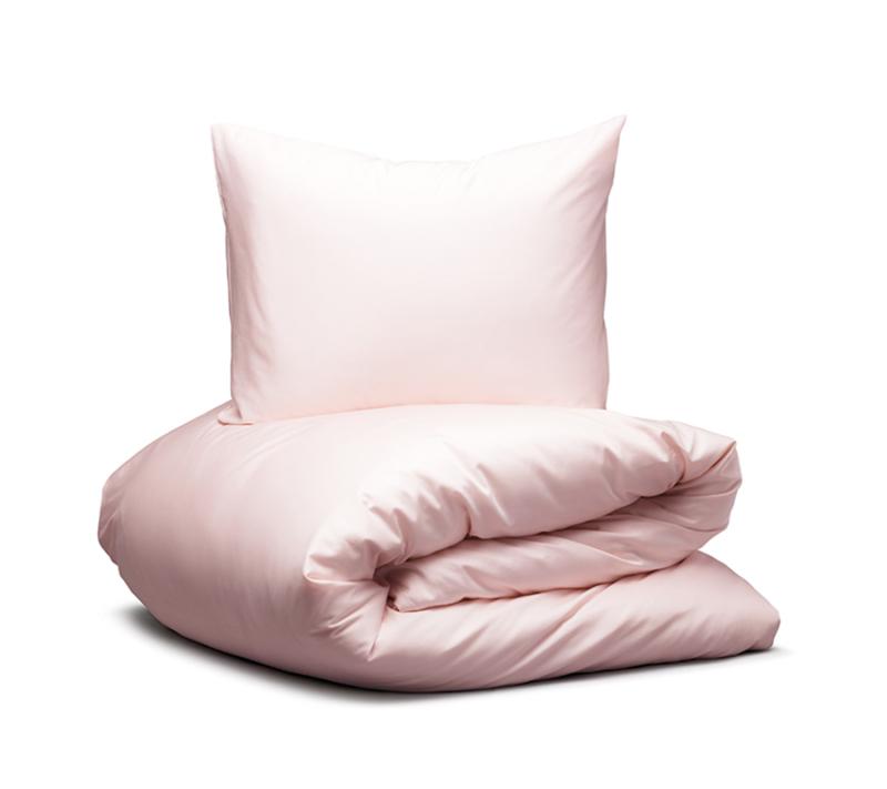 Hästens Satinpure Light sengetøj pink