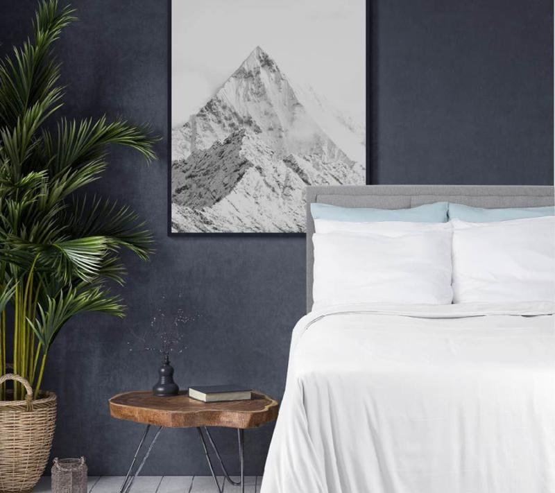 Wonder living bambus sengetøj White miljøbillede