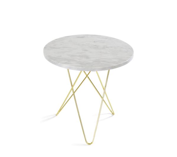OX Denmarq natbord hvid marmor
