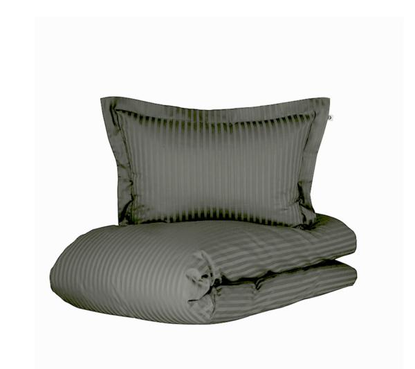 Borås cotten Harmony sengetøj antracit