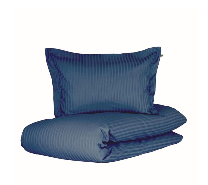 Borås cotten Harmony sengetøj deep blue