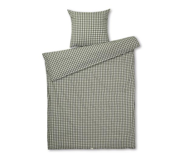JUNA Bæk og Bølge sengetøj grøn