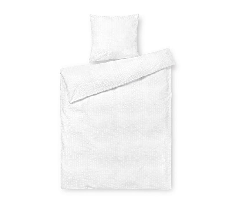JUNA Bæk og Bølge sengetøj hvid