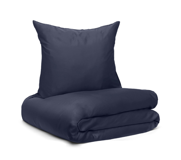 Wonder living bambus sengetøj Navy Blue