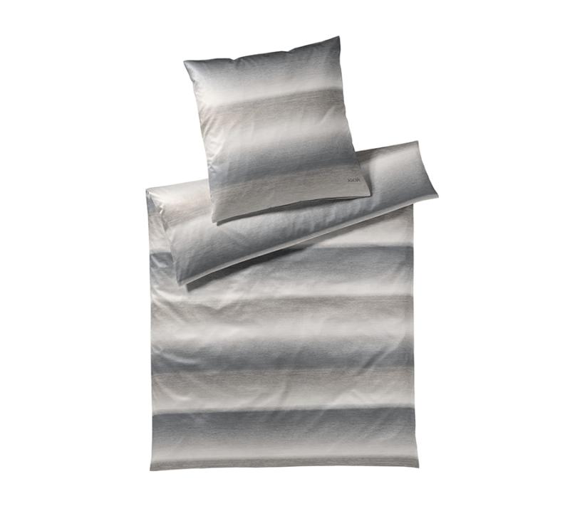 JOOP sengetøj vague shiny grey