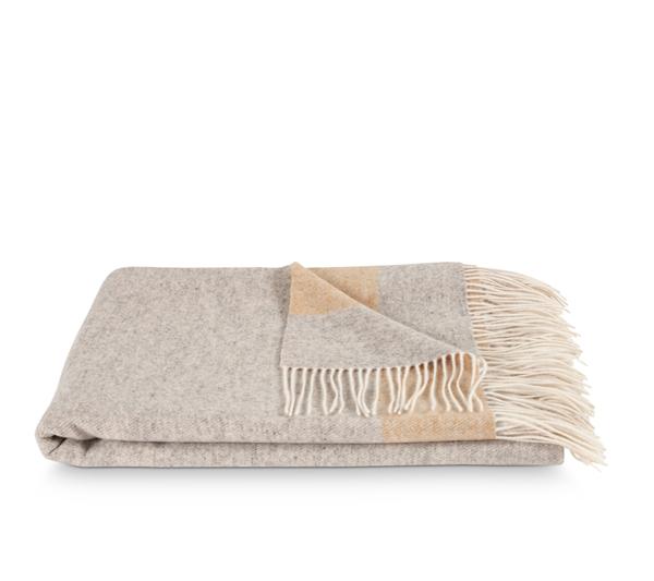 Nordic Weaving Cashmere Tæppe Grey Beige